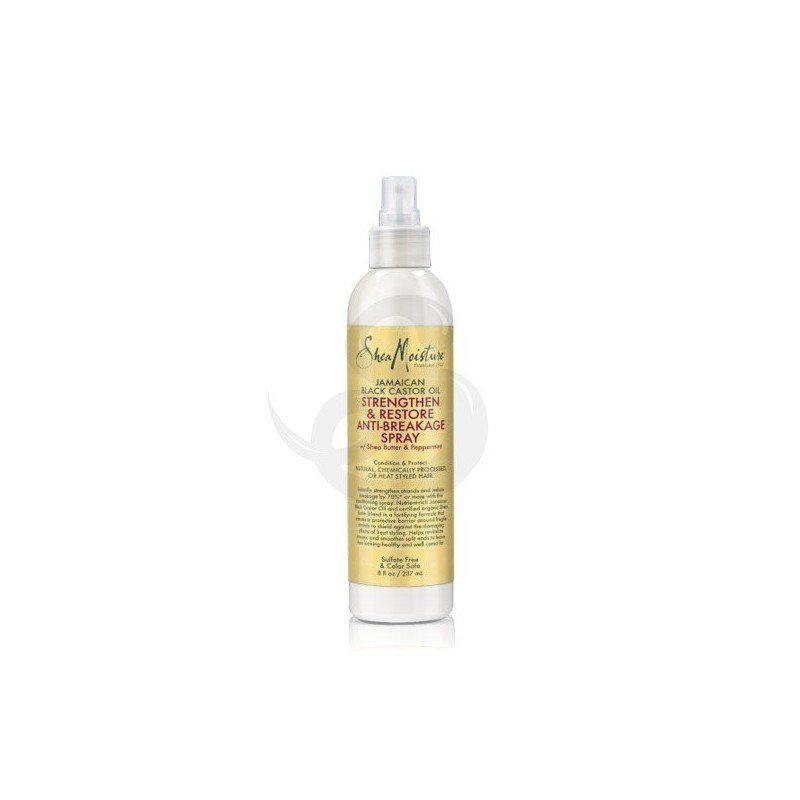 Shea Moisture Jamaican Black Castor Oil Strengthen & Restore Anti-Breakage Spray