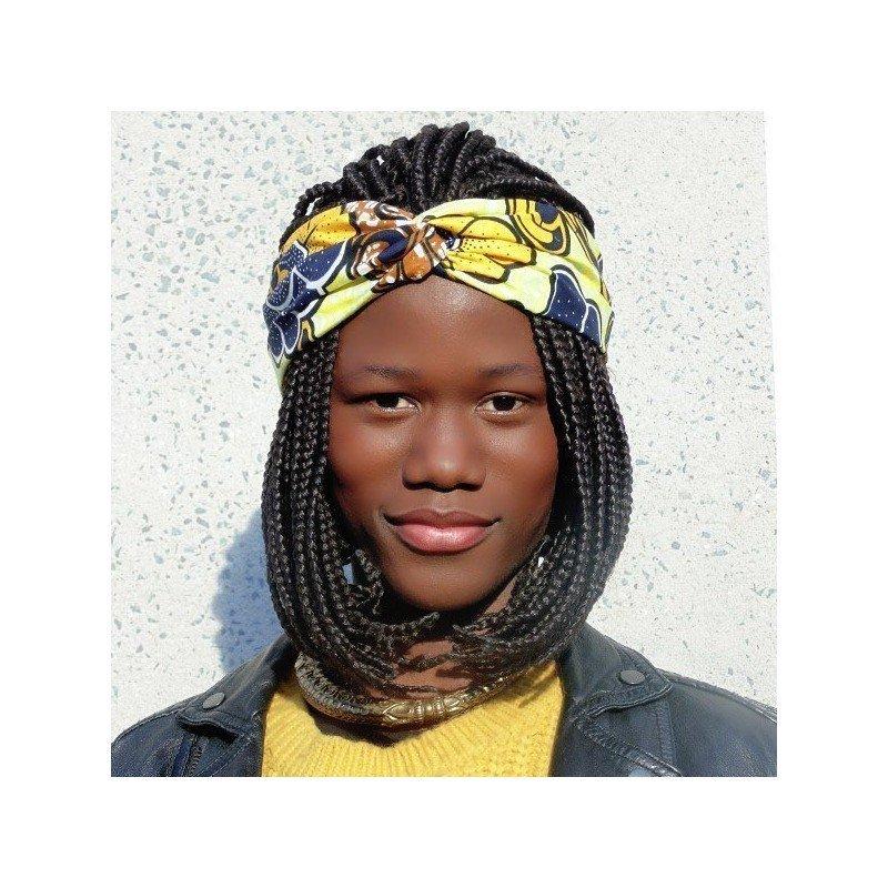 Bandana en tela africana - Tina
