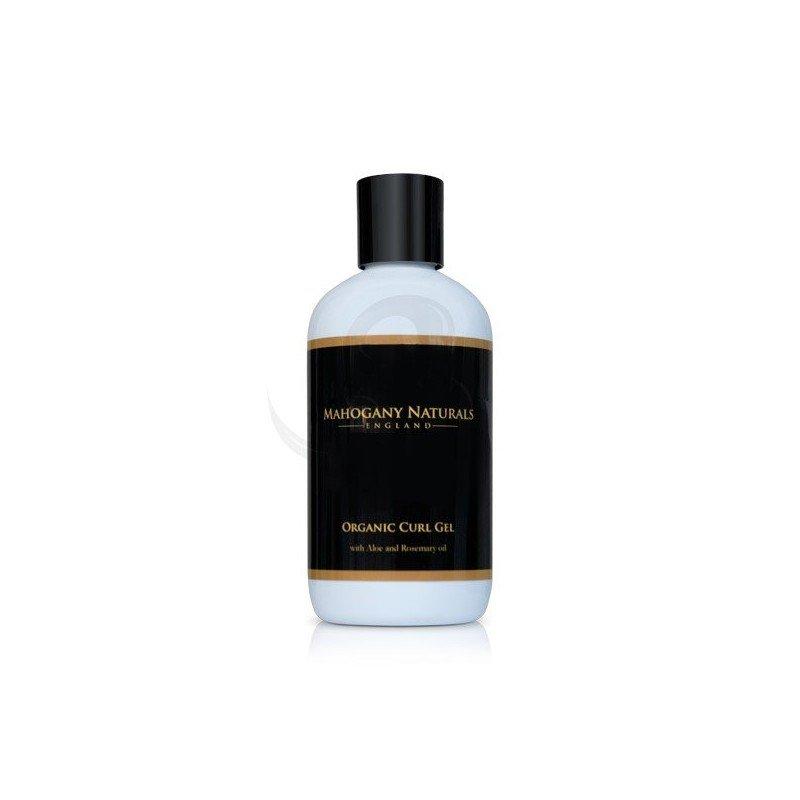 Mahogany Naturals Organic Curl Gel, gel fijador orgánico