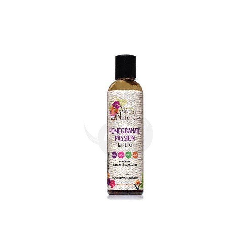 Alikay Pomegranate Passion Hair Elixir, serum orgánico