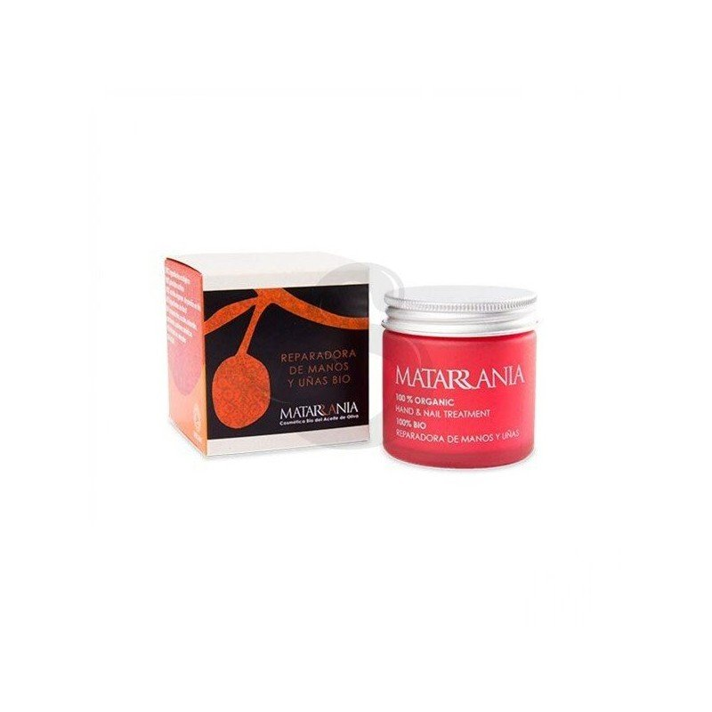 Crema reparadora de manos y uñas 100% BIO Matarrania