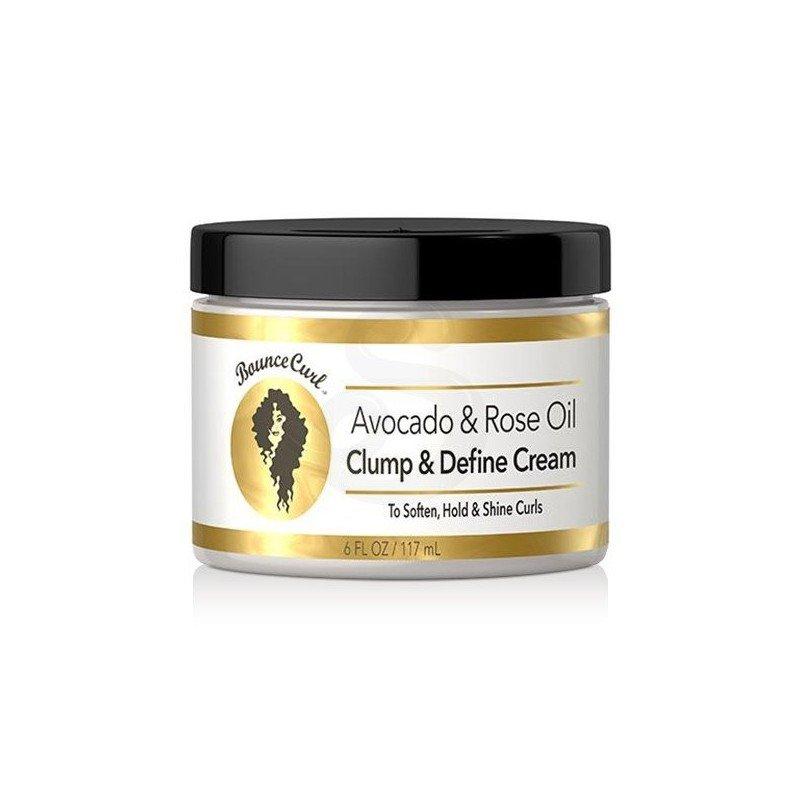 Bounce Curl Avocado & Rose Oil Clump & Define Cream, crema de peinado