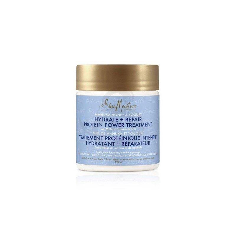 Shea Moisture Manuka Honey & Yogurt Hydrate + Repair Protein-Strong Treatment