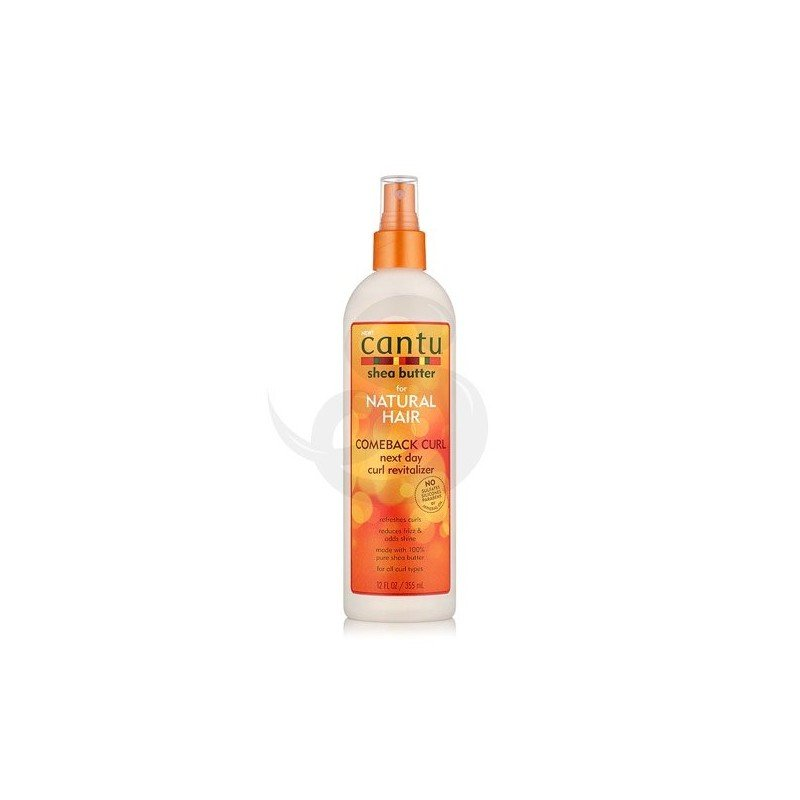 Cantu Shea Butter for Natural Hair Comeback Curl Next Day Curl Revitalizer