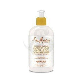 Shea Moisture Coconut Custard Make It Last Wash N' Go Conditioner