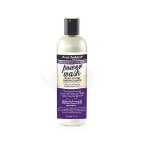 Aunt Jackie's Grapeseed Style & Shine Recipe Power Wash Intense Moisture Clarifying Shampoo
