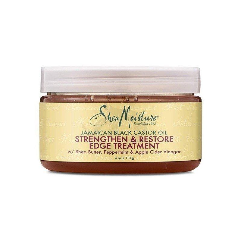 Shea Moisture Jamaican Black Castor Oil Strengthen & Restore Edge Treatment, gel fijador