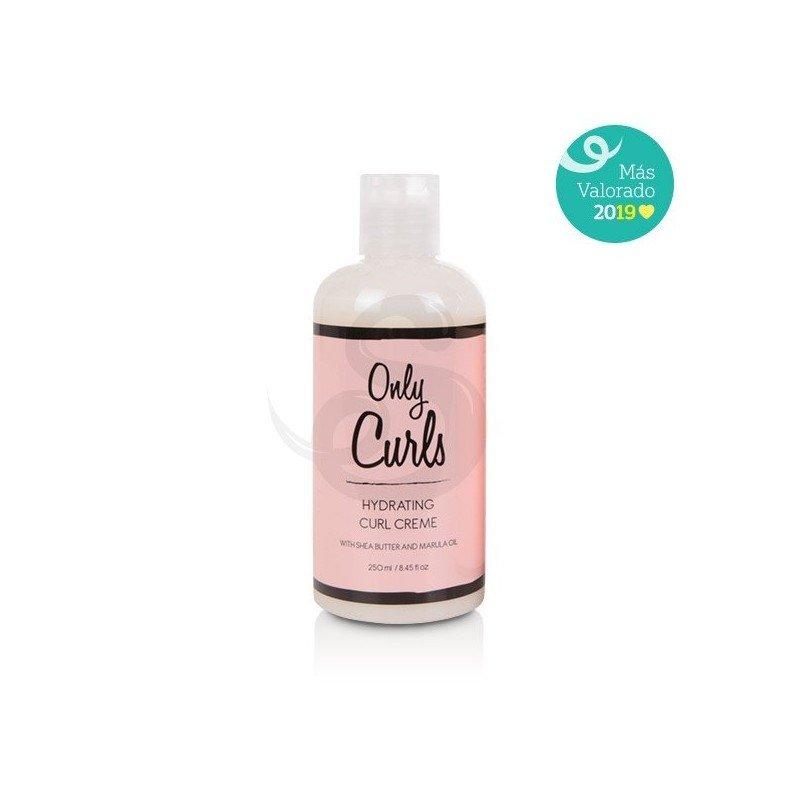 Only Curls Hydrating Curl Creme, crema hidratante ligera para rizos