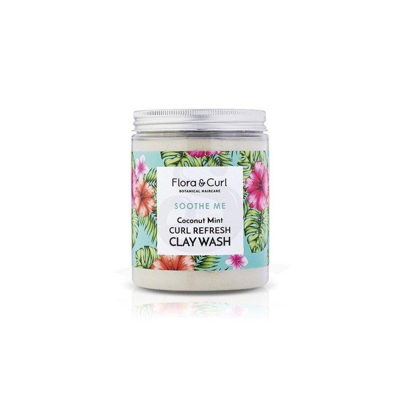 Flora & Curl Soothe Me Refresh Clay Wash, arcilla limpiadora para el cabello