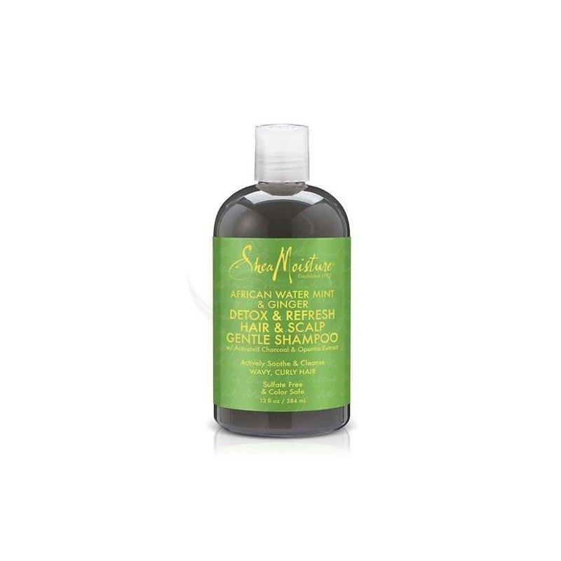 Shea Moisture African Water Mint & Ginger Detox Hair & Scalp Gentle Shampoo