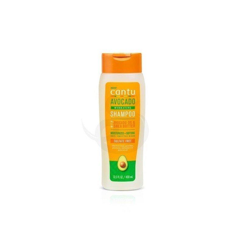 Cantu Avocado Hydrating Shampoo, champú sin sulfatos de aguacate