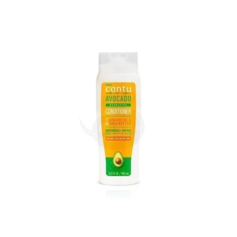 Cantu Avocado Hydrating Conditioner, acondicionador sin silicona de aguacate