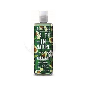 Faith of Nature Avocado Shampoo, champú vegano todo tipo de cabello