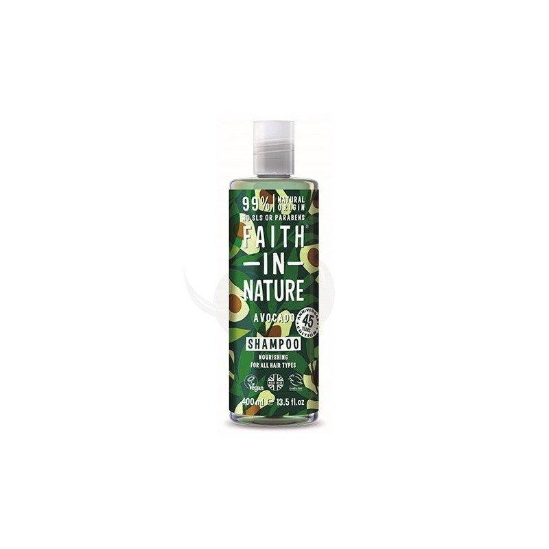 Faith of Nature Avocado Shampoo, champú vegano todo tipo de cabello