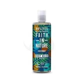 Faith of Nature Coconut Body Wash, gel de ducha vegano de coco