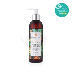 Flora & Curl Protect Me African Citrus Superfruit Hair Oil, aceite capilar multiusos - Mejor producto Sofía Black 2020