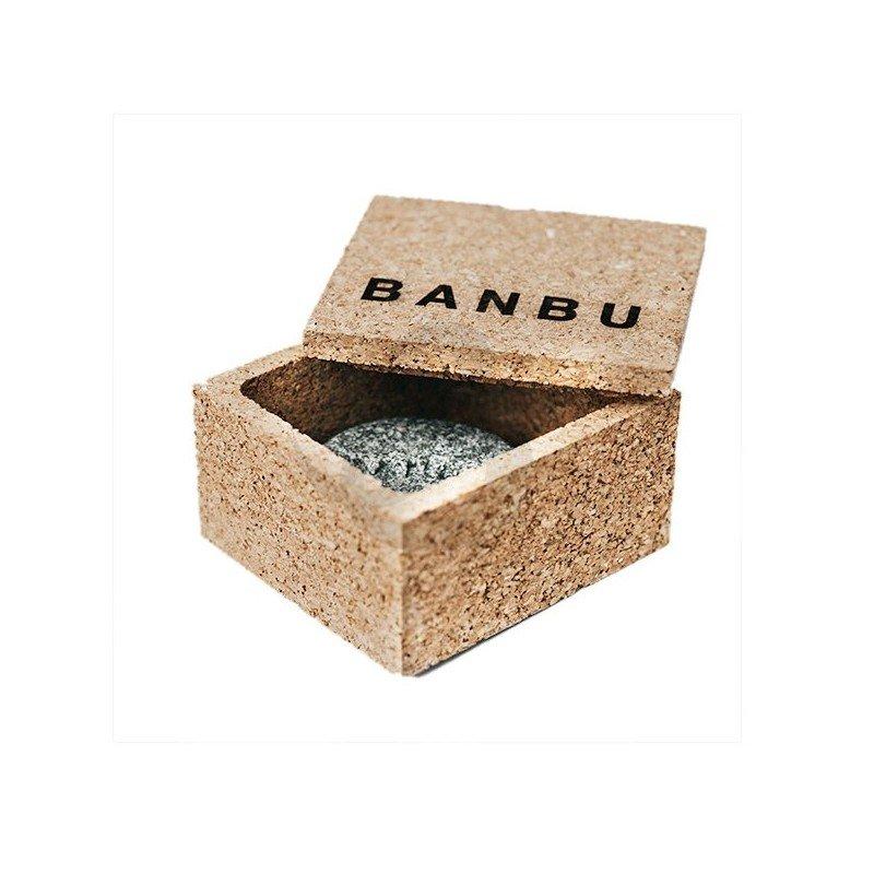Caja de corcho para cosmética en sólido