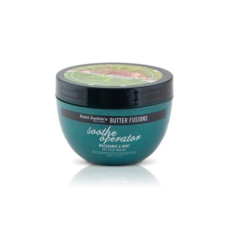 Aunt Jackie's Butter Fusions Soothe Operator Dry Scalp Conditioning Masque