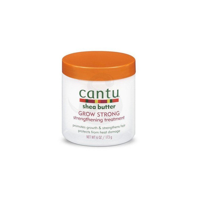 Cantu Shea Butter Grow Strong Strengthening Treatment, tratamiento con manteca de karité