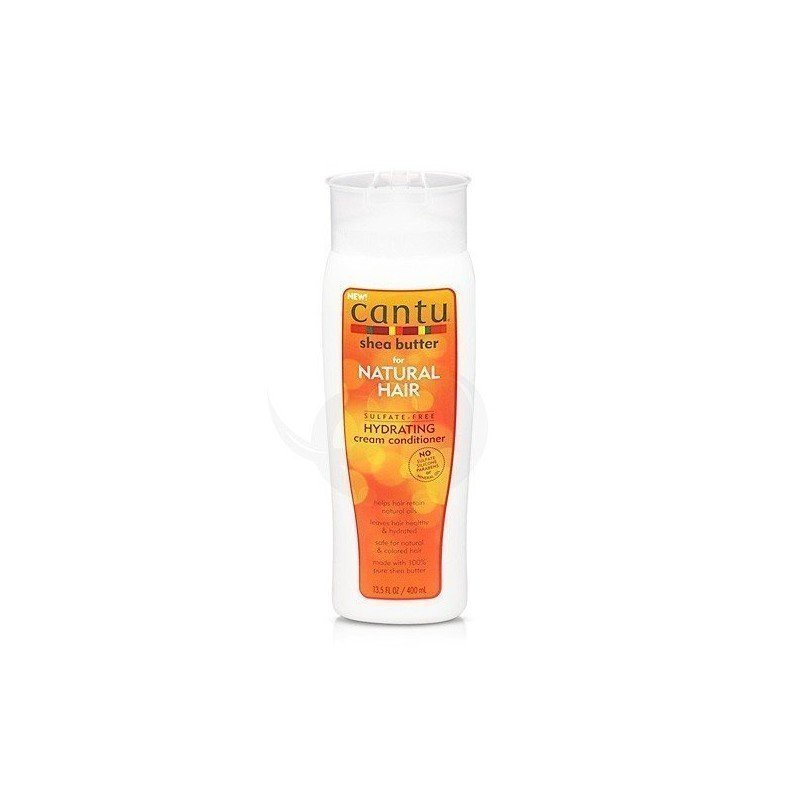 Cantu Shea Butter Hydrating Cream Conditioner, acondicionador con aclarado