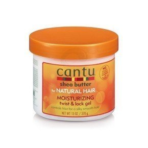 Cantu Shea Butter Moisturizing Twist & Lock Gel, fijador anti-frizz