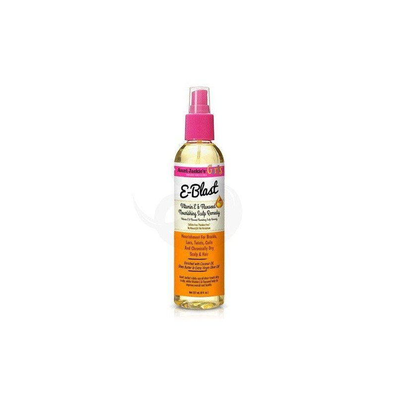 Aunt Jackie's Girls E-Blast Vitamin E & Flaxseed Nourishing Scalp Remedy