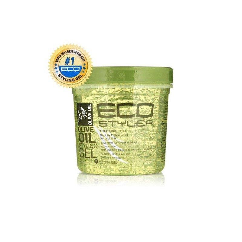 Eco Styler Olive Oil Styling Gel, fijador con aceite de oliva