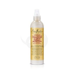Shea Moisture Jamaican Black Castor Oil Strengthen & Grow Thermal Protectant, protector de calor
