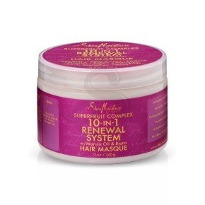 Shea Moisture SuperFruit Complex 10-In-1 Renewal System Hair Masque, mascarilla antioxidante