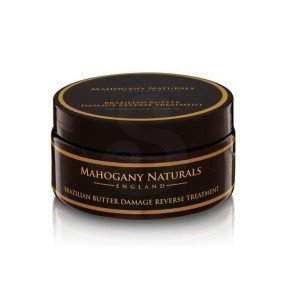 Mahogany Naturals Brazilian Butter Damage Reverse Treatment, manteca brasileña reparadora