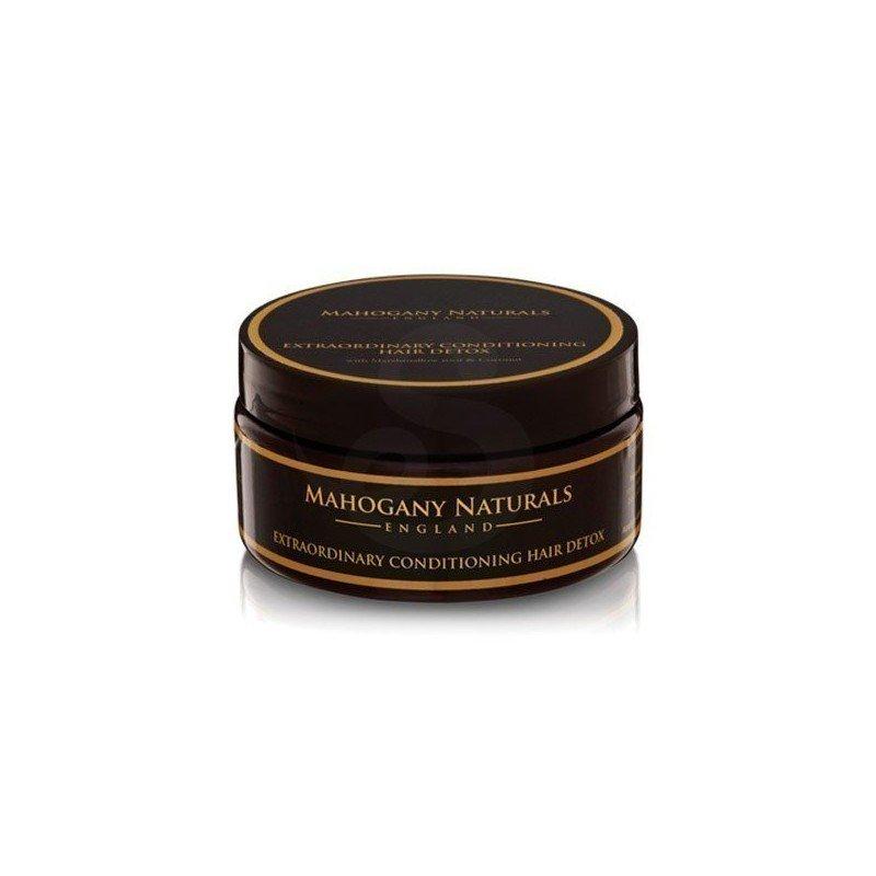 Tratamiento orgánico detox para cebello rizado y afro de Mahogany Naturals