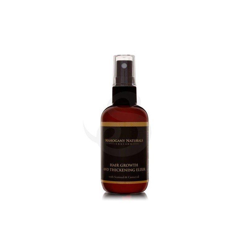Mahogany Naturals Hair Growth & Thickening Elixir, estimulante crecimiento cabello