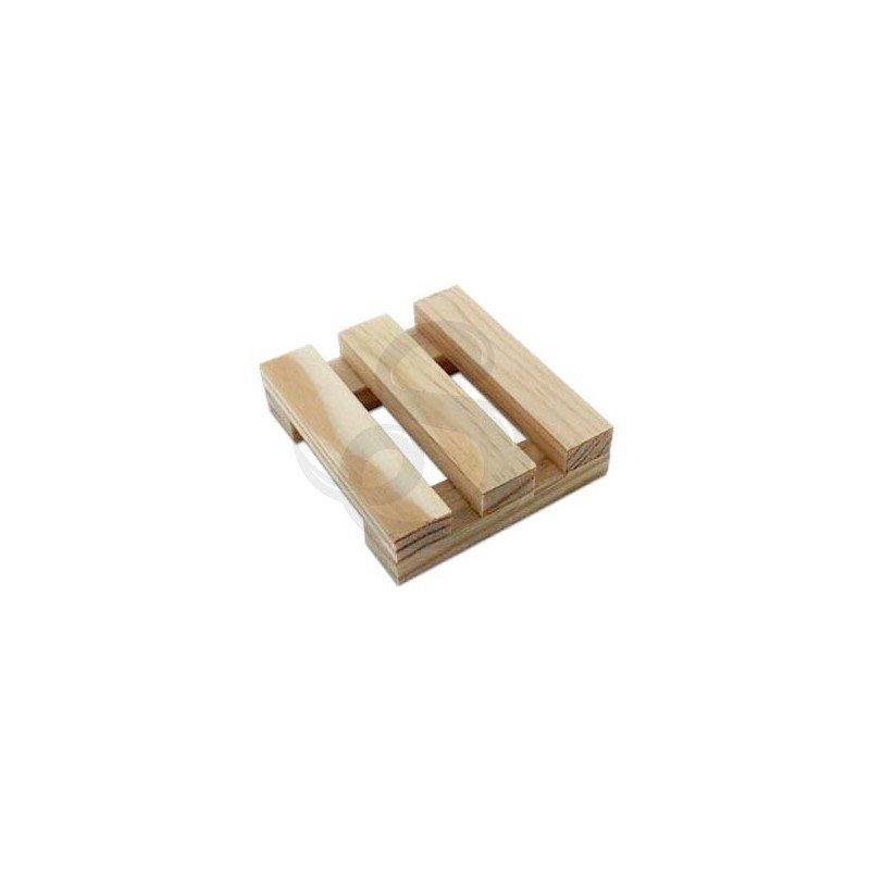 Jabonera artesana, de madera de pino - Matarrania