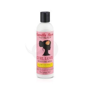 Camille Rose Curl Love Moisture Milk, acondicionador sin aclarado (leave-in)
