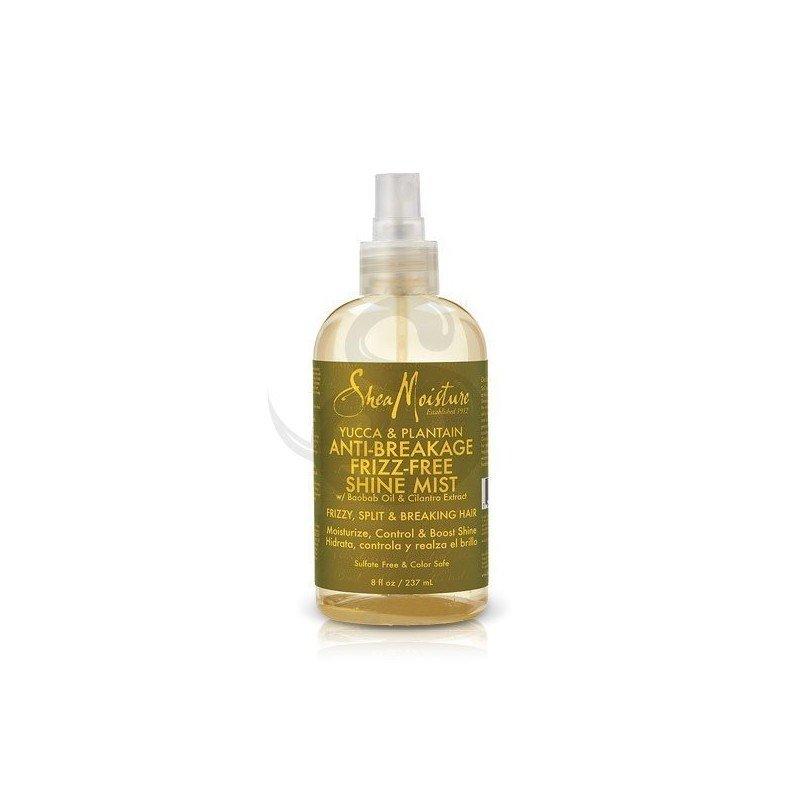Shea Moisture Yucca & Plantain Anti-Breakage Frizz-Free Shine Mist