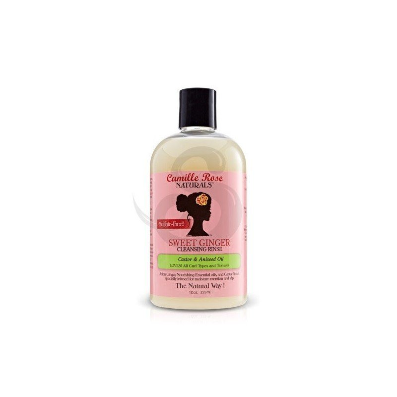 Camille Rose Sweet Ginger Cleansing Rinse, champú clarificante