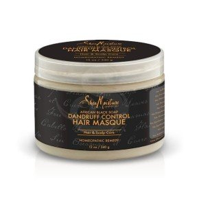Shea Moisture African Black Soap Dandruff Control Hair Masque