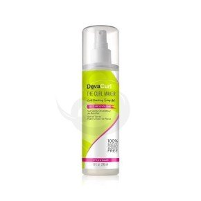 DevaCurl The Curl Maker Curl Boosting Spray Gel, potenciador de rizos