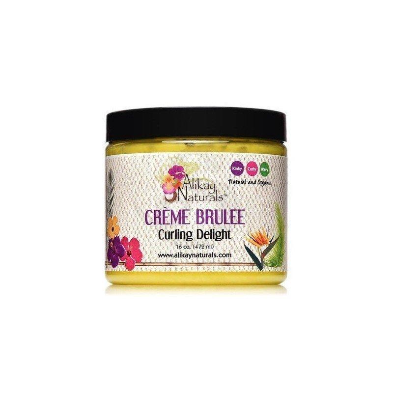 Alikay Crème Brulee Curling Delight, crema de peinado con ingredientes orgánicos