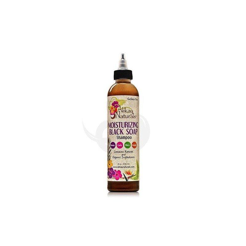 Alikay Moisturizing Black Soap Shampoo