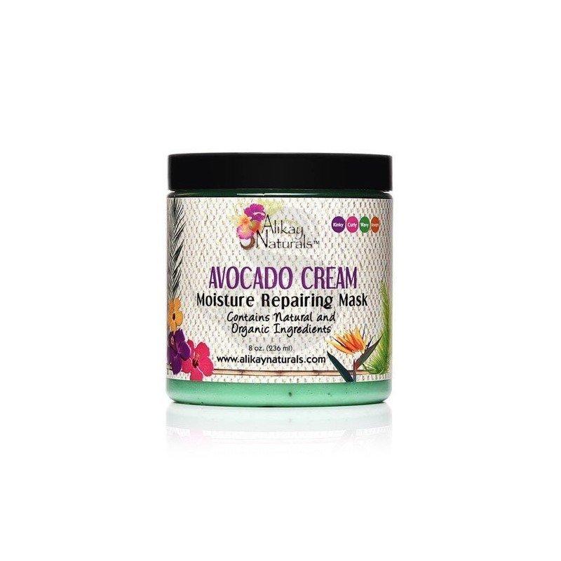 Alikay Avocado Cream Moisture Repairing Hair Mask, mascarilla orgánica reparadora de aguacate
