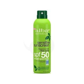 Protector solar Alba Botanica Sensitive Spray SPF 50