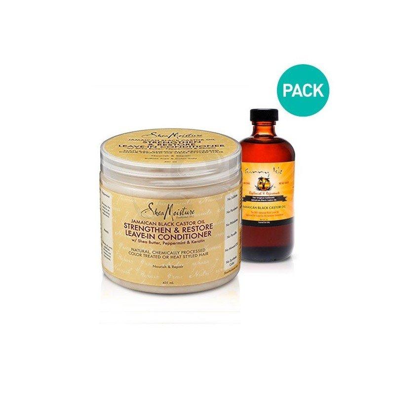 PACK de productos para hacer crecer el cabello más rápido