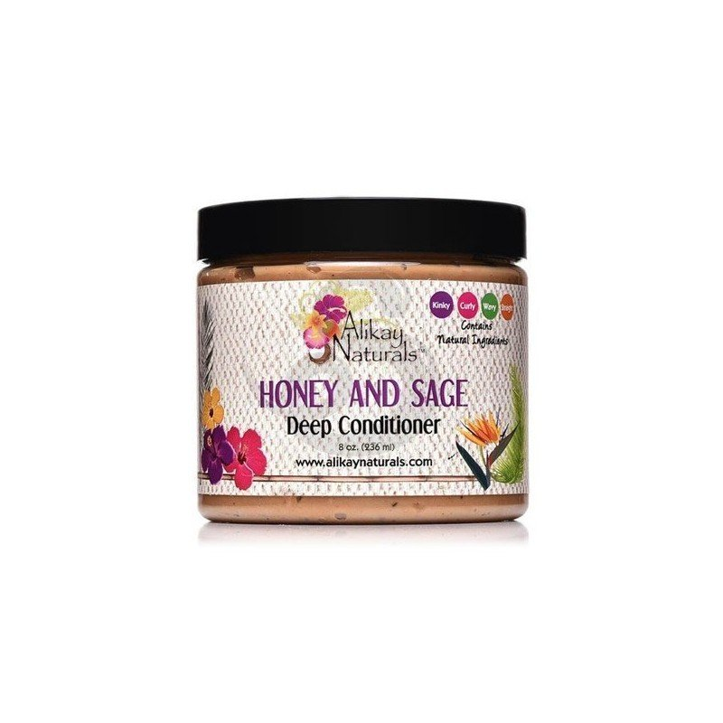 Alikay Honey And Sage Deep Conditioner, acondicionador profundo