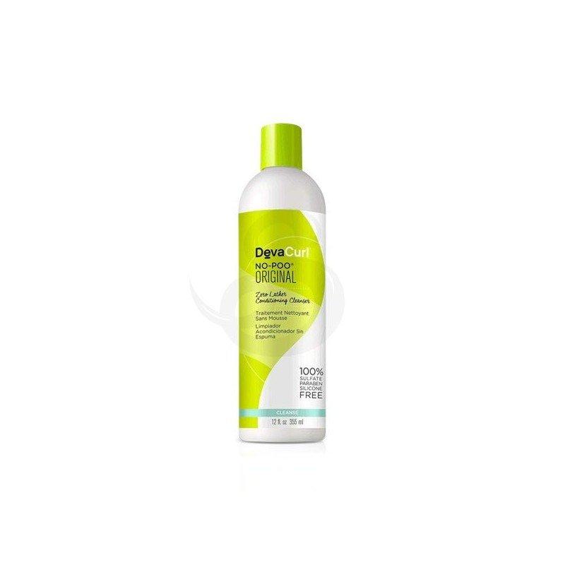 DevaCurl No-Poo Original, champú sin espuma sin sulfatos