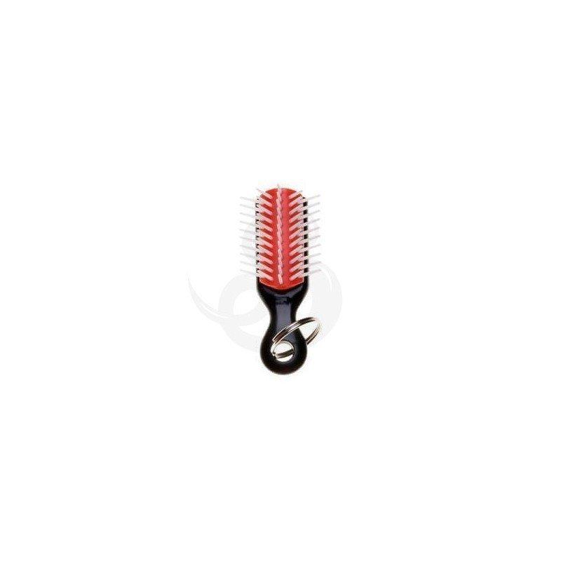 Cepillo Denman mini llavero