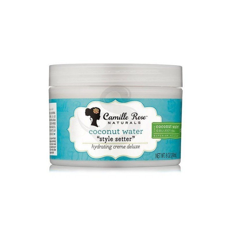 Camille Rose Style Setter Hydrating Creme Deluxe, crema de peinado