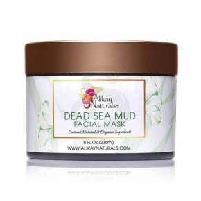 Alikay Dead Sea Mud Facial Mask, mascarilla facial de barro del Mar Muerto