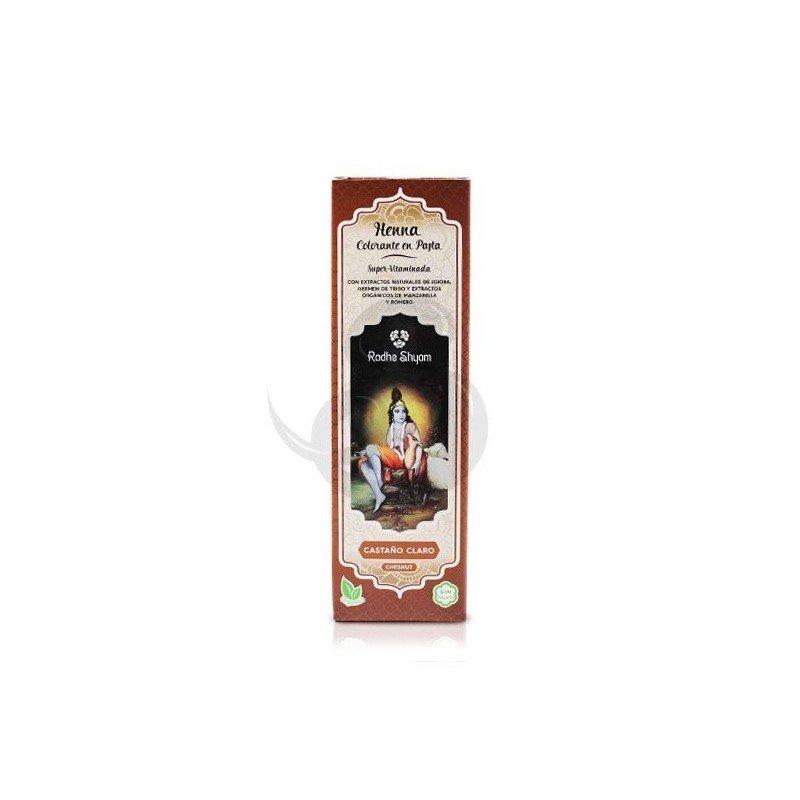 Radhe Shyam Henna en pasta Castaño Claro