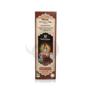 Radhe Shyam Henna en pasta Castaño Oscuro